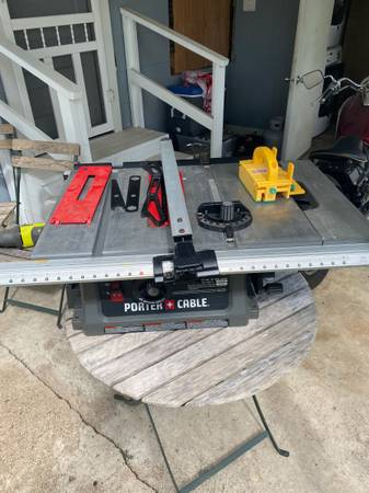 Photo Porter Cable Table Saw - $150 (Bryan)