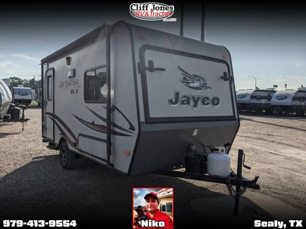 Photo Pre-Owned 2014 Jayco Jay Flight 16XRB Hybrid Travel Trailer - $11,995 (Sealy)