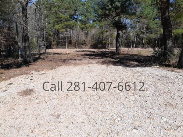 Photo Quarter Acre LandLot full hookups Mobile Home  RV (Plantersville)