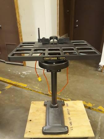 Photo Refurbished Craftsman Cast Iron Shaper - $350 (Bryan College Station)