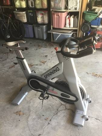 Photo Star Trac NXT Spin Bike with Monitor - $600 (Memorial and Beltway 8)