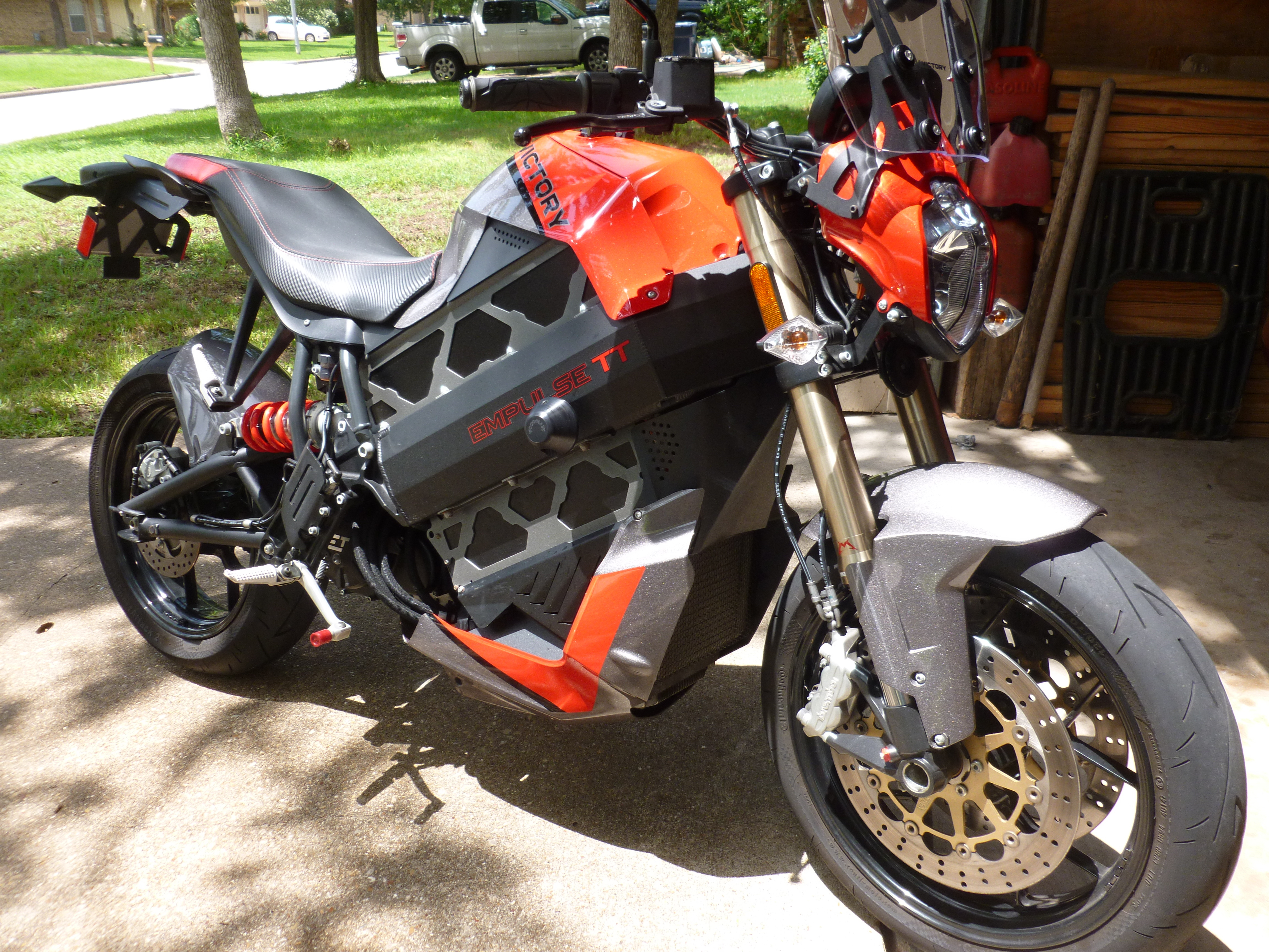 Photo Used 2016 Victory Electric Motorcycle Motorcycle  $7500