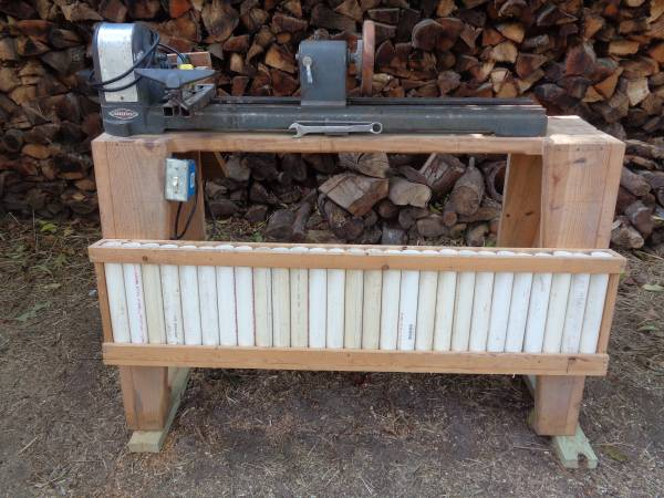 Photo 1950s Craftsman Wood Lathe - $200 (Aiken SC)