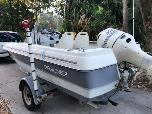 Photo 19 Ft Center Console Boat  Fishing Boat - $7,500 (Columbia)