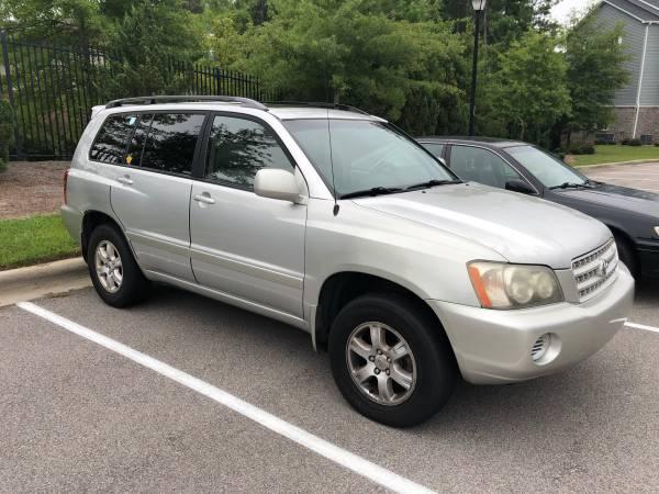 Photo 2002 Toyota Highlander Limited - $3,900 (Irmo)