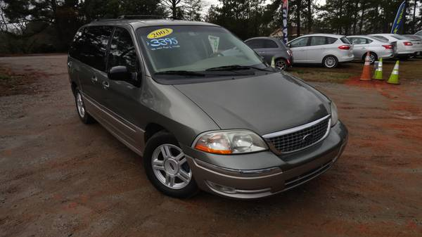 Photo 2003 Ford Windstar Limited, Leather, TV, pwr doors, MINT CONDITION - $3195 (exit 91 chapin off rt 26)