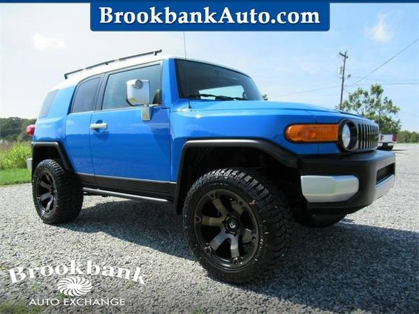 Photo 2007 TOYOTA FJ CRUISER, Blue APPLY ONLINE-gt BROOKBANKAUTO.COM - $17,963 (RAM CHEVY FORD DODGE JEEP)