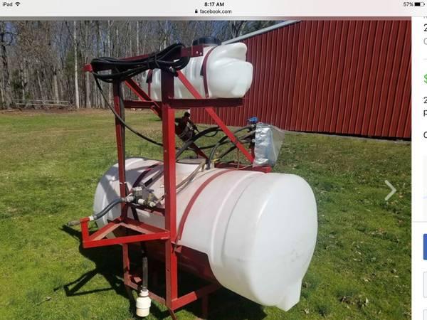 Photo 200 gallon sprayer - $1800 (Clover sc)