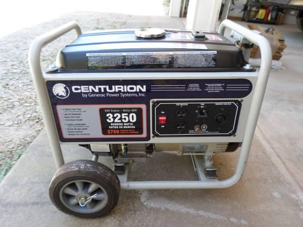 Photo 3250W Centurion Generac Portable Gas Generator - $200 (Newberry)