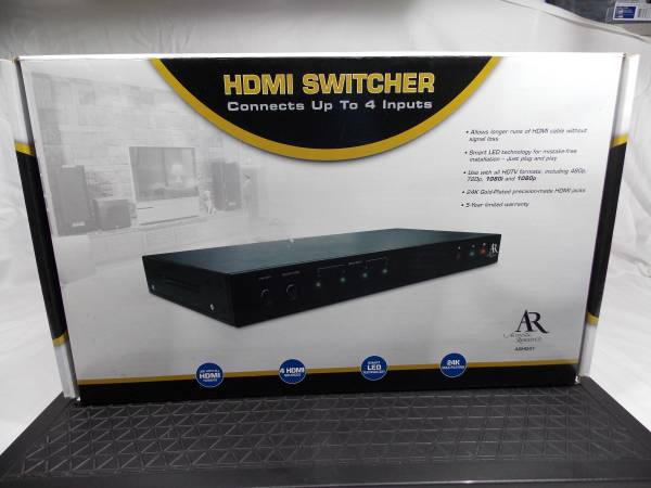 Photo Acoustic Research HDMI Switcher with Remote - Never Used - $20 (Lexington, SC)