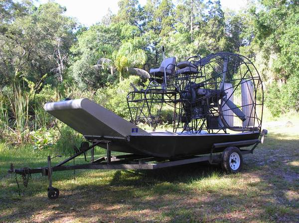 Photo Airboat for sale Lycoming Super Charged 480 - $10000 (Ludowici)
