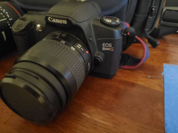 Photo Canon eos rebel g film camera - $35 (Cayce)