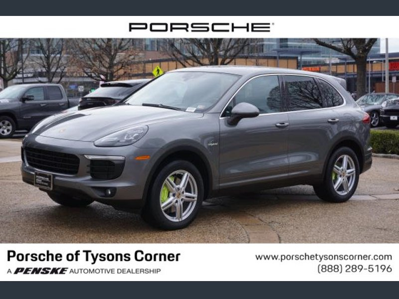 Photo Certified 2015 Porsche Cayenne S E-Hybrid for sale