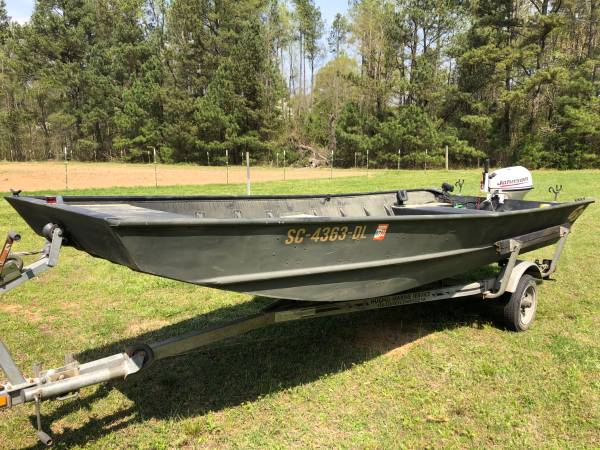 Photo G3 Aluminum Jon boat - $3295 (Lancaster)