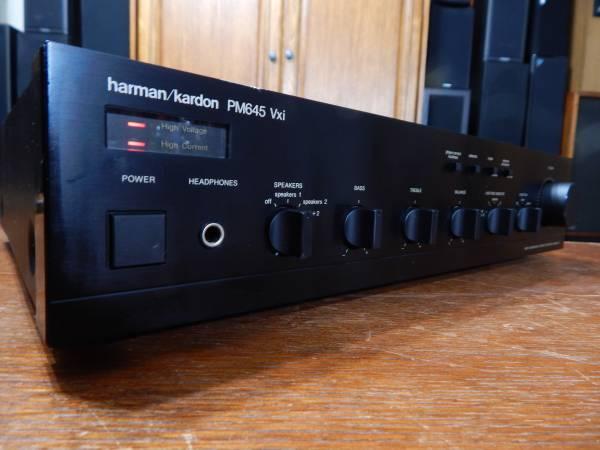 Photo Harman Kardon PM645 Vxi Integrated Amplifier - $175 (Lexington, SC)