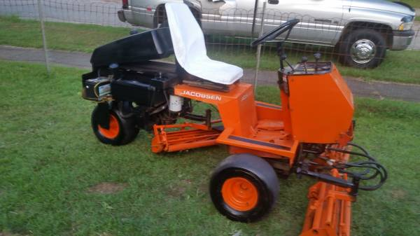 Photo I have a Jacobsen greens King lV reel mower for sale - $2,500