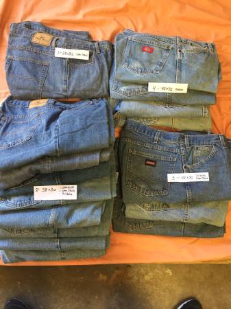 Photo MENS BLUE JEANS ( 22 pair ) - $100 (In WEST COLUMBIA)