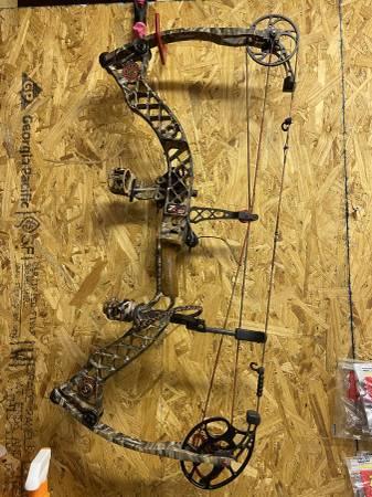 Photo Mathews Z7 compound bow - $500 (Springfield)