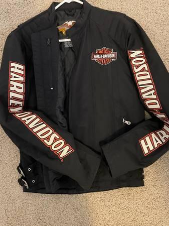 Photo Mens Harley Davidson nylon jacket - $75 (Chapin)