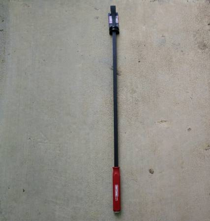 Photo NEVER USED USA MADE Craftsman 36quot Pry Bar with Strike Cap (Platt Springs West COLUMBIA)