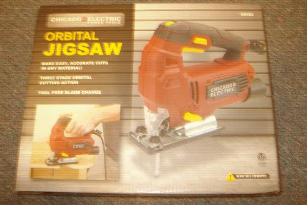 Photo NEW-Chicago Electric Jigsaw w5 pack blades - $20 (SUMMERTON)