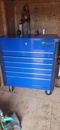 Photo Snap-On Tools 32quot Six-Drawer Compact Roll Cart (KRSC326FPCM) - $1,000 (Irmo)