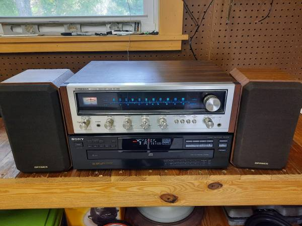Photo Stereo System Vintage Pioneer, Sony, Optimus - $150 (Chapin)