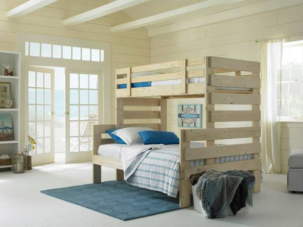 Photo Twin Over Full Bunk Bed Made In The USA - $799 (Columbia, SC)