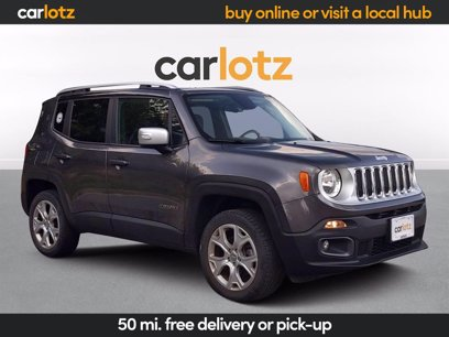 Photo Used 2017 Jeep Renegade Limited for sale