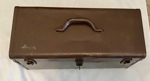 Photo Vtg Kennedy Model K20 Professional Toolbox wo Original Tool Tray - $45 (North Augusta, SC)
