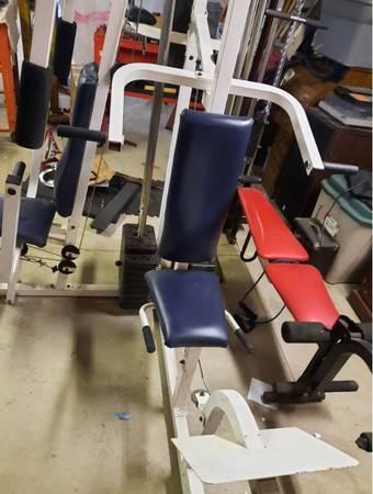 Photo Weider Multiple Pulley Weight Machine - $250 (Prosperity)