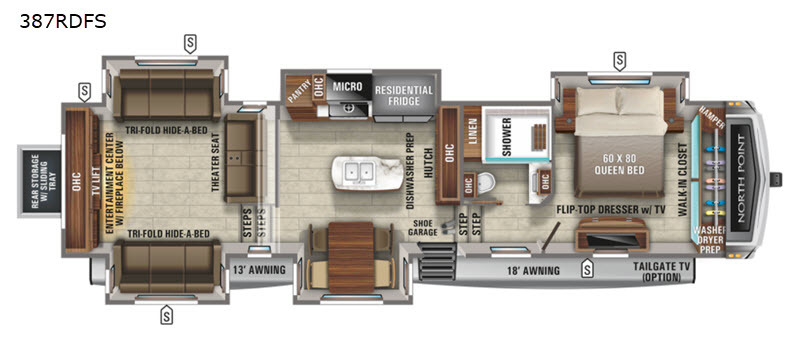 Photo 2021 Jayco North Point 387RDFS $ 77995