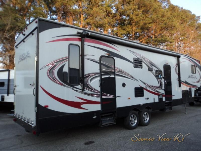 Photo Used 2015 Forest River Rv Fifth Wheel Toy Hauler RV  $44999