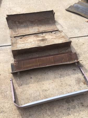 Photo 1928-29 Model A Ford Coupe Rumble Seat Floor Pans Rat Hot Rod Vintage - $250 (Columbus)
