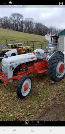 Photo 1939 Ford 9n Tractor - $2800 (LANCASTER)