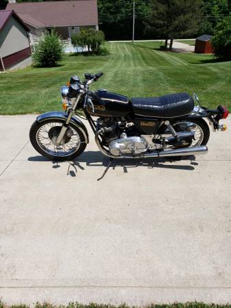 Photo 1975 Norton Commando electric start - $8,500 (Lexington Ohio)