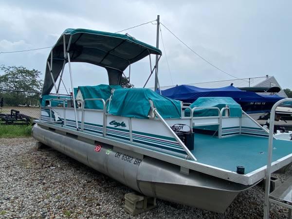Photo 1995 Playbuoy Eagle 2039 pontoon boat - $5,500 (Howard)