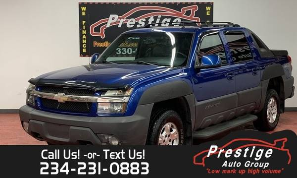 Photo 2003 Chevrolet Avalanche  - 100 Approvals - $5,494 (Columbus)