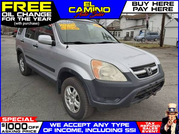 Photo 2004 HONDA CR-V EX (- $749 Down$175 payment oac BUY HERE-PAY HERE)