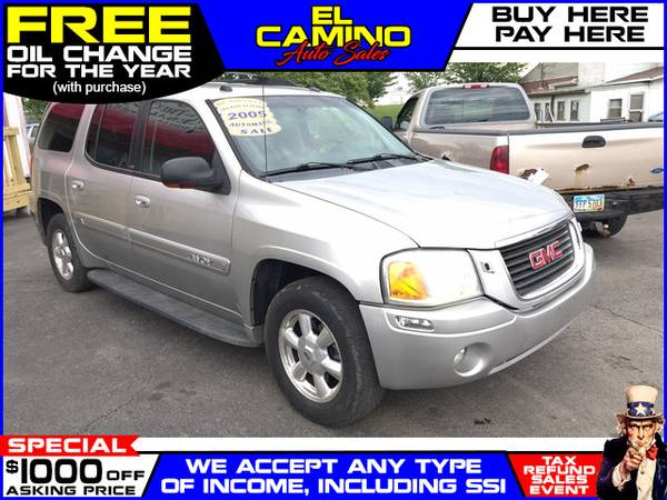 Photo 2005 GMC ENVOY XL (- $749 Down$175 payment oac BUY HERE-PAY HERE)