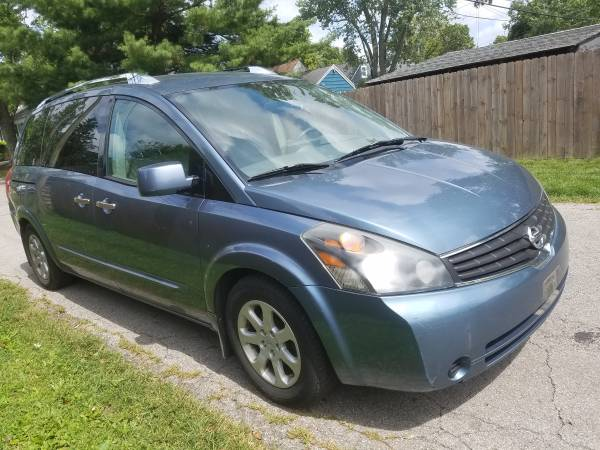 Photo 2008 Nissan quest s absolutely loaded dual roofs heated leather seats - $3,200 (Columbus)