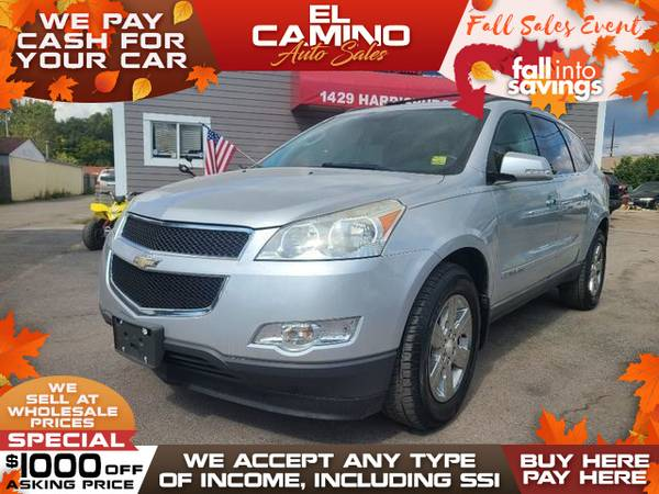 Photo 2009 Chevrolet Chevy TRAVERSE LT (- $749 Down$175 payment oac BUY HERE-PAY HERE)