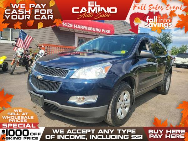 Photo 2012 Chevrolet Chevy TRAVERSE LS (- $749 Down$175 payment oac BUY HERE-PAY HERE)