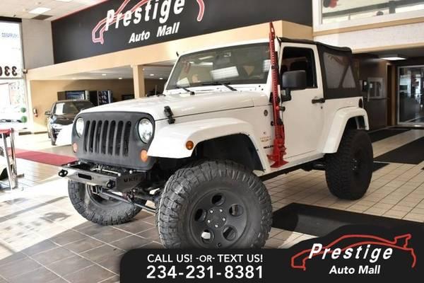 Photo 2012 Jeep Wrangler Sahara - $20,991 (Includes 6 month warranty)