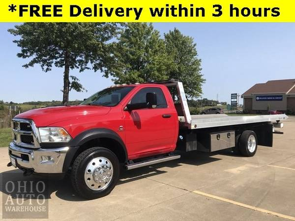 Photo 2017 Ram 5500 Chassis Cab Tradesman 18 FT Rollback Stinger Cummins DIE - $49,000 (Easy Financing - (330) 752-4461)