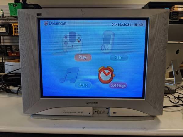 Photo 27quot Panasonic CT 27SL13G CRT TV Retro Vintage Gaming Component RCA Coa - $20 (columbus)