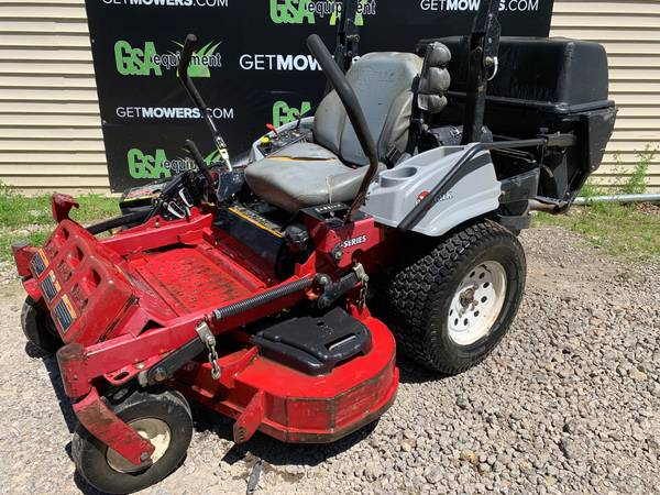 Photo 52IN EXMARK LAZER Z COMMERCIAL ZERO TURN W BAGGER ONLY $80 A MONTH - $3,400 (Barberton)