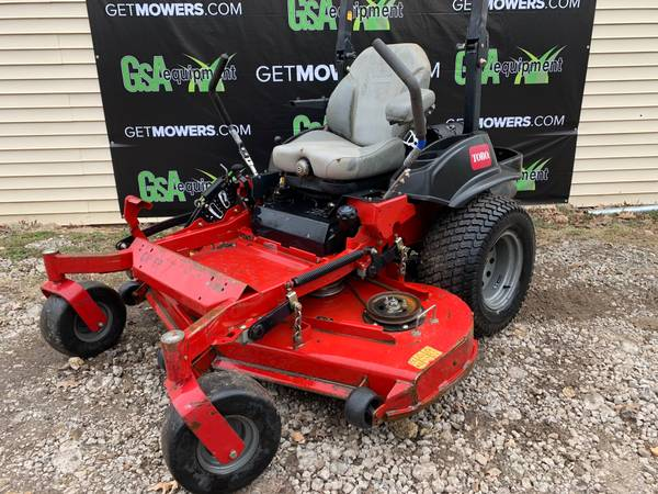 Photo 60IN TORO Z-MASTER 5000 SERIES COMMERCIAL ZERO TURN ONLY $76 A MONTH - $3200 (Barberton)
