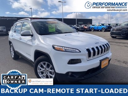 Photo Certified 2017 Jeep Cherokee 4WD Latitude for sale