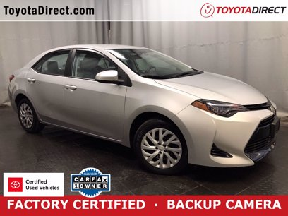 Photo Certified 2017 Toyota Corolla LE for sale